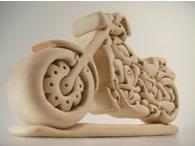 流麗なフィルムのかっこいいオートバイに! 組みあがりの喜びも一入です。